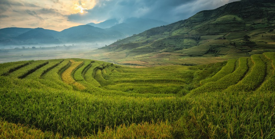 Randonnée dans la réserve naturelle Pu Luong