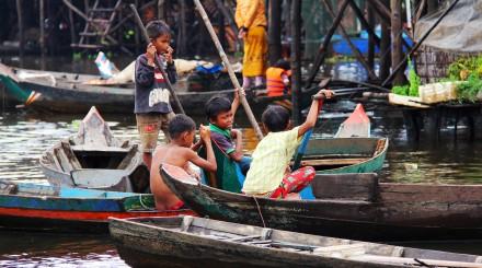 Croisière sur le lac Tonle Sap