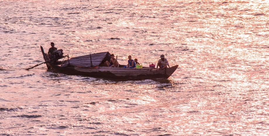 Balade sur la rivière Cai