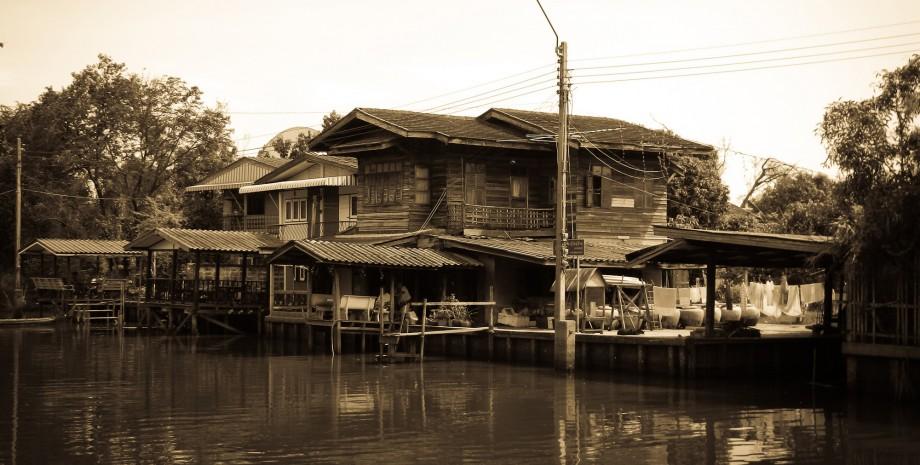 Croisière vers le Bangkok d'antan