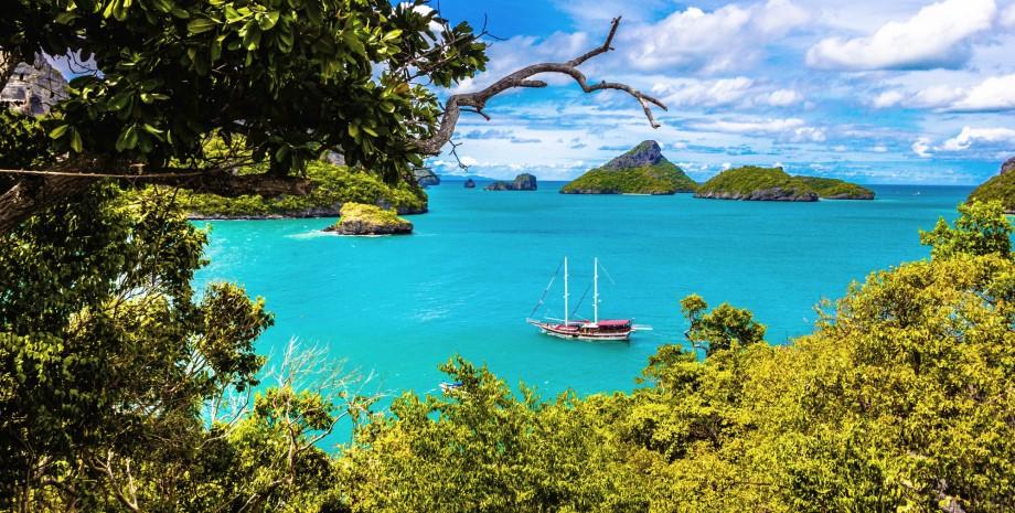 Croisière en voilier vers Ang Thong