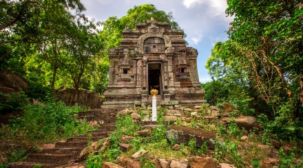 Tonle Bati - Takeo - Phnom Da - Phnom Chisor