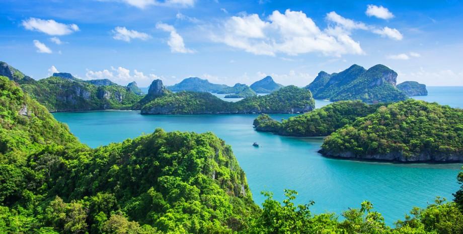 Journée à la réserve marine d'Angthong