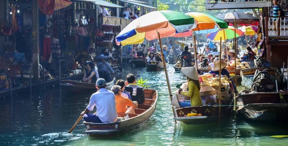 Découverte du marché flottant en bateau et vélo