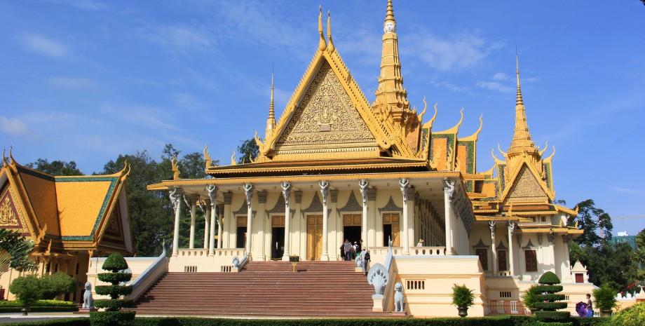 Visite de Phnom Penh en cyclo