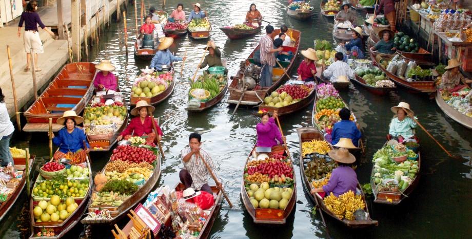 Marché flottant et découverte de Petchaburi