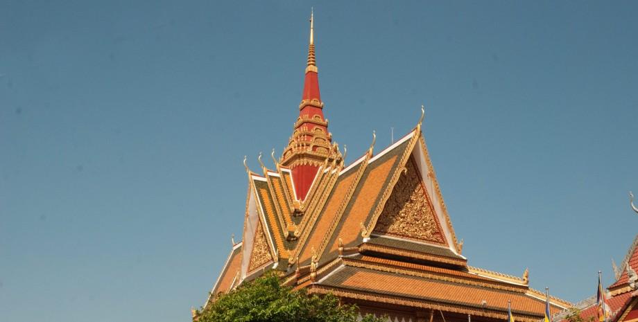 Cérémonie de bénédiction à la pagode