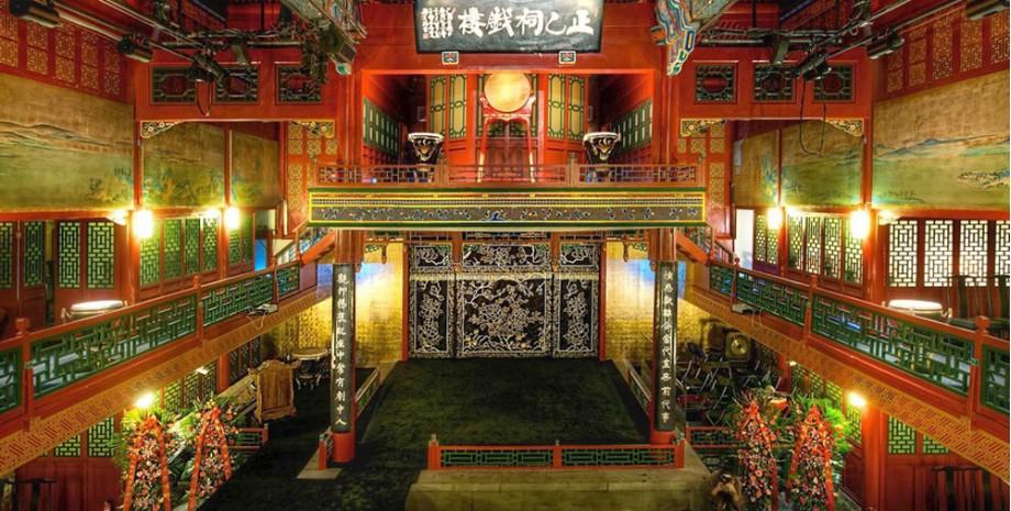 Soirée à l'opéra de Pékin