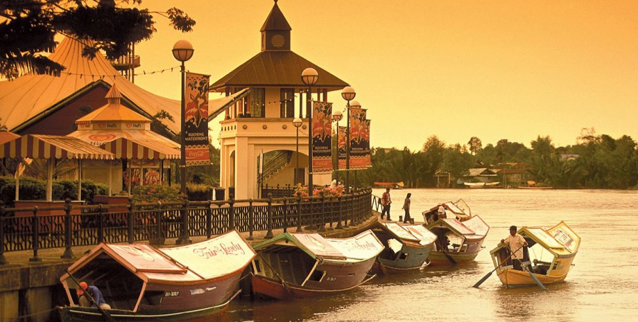Croisière sur la rivière Sarawak
