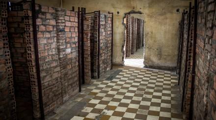 Visite du musée Tuol Sleng