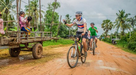 Vélo à la campagne