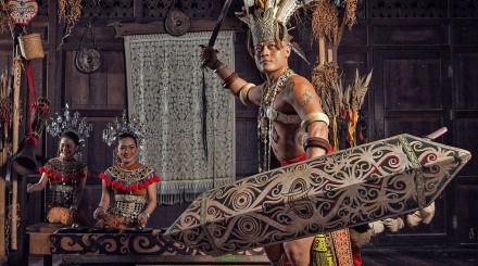 Excursion au village culturel de Sarawak