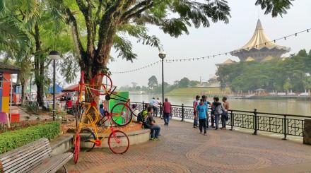 Flânerie à Kuching