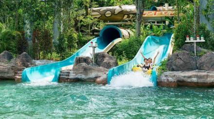 Journée au parc d'attraction Sunway Lagoon