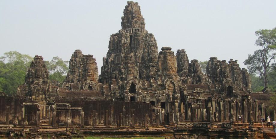 Découverte d'Angkor Thom