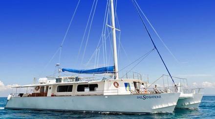 Nusa Lembongan en voilier
