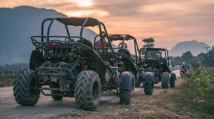 Buggy tour in Vang Vieng