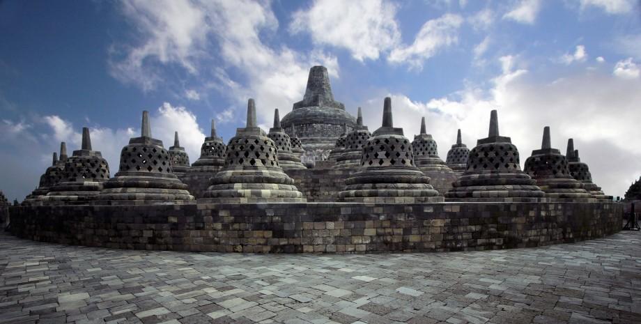 Temple Borobudur et vélo